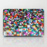 confetti iPad Cases featuring Confetti by Laura Ruth