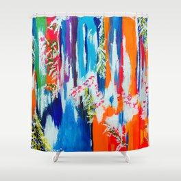 In Retrospection Shower Curtain