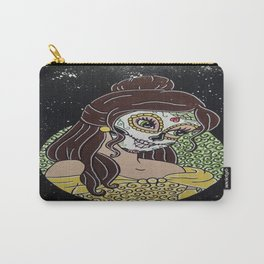 Belle Sugar Skull Carry-All Pouch