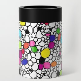 Circles and Other Shapes and colors Can Cooler
