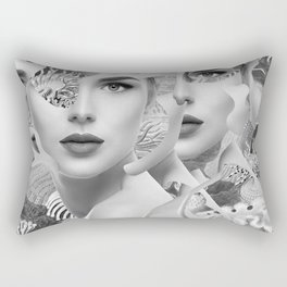 Under The Surface Rectangular Pillow