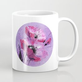 Pavot mauve Coffee Mug