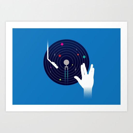 Star Tracks Art Print