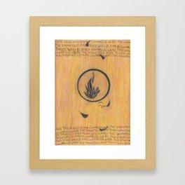 Dauntless. Framed Art Print