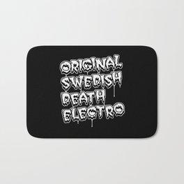 Original Swedish Death Electro #1 Bath Mat