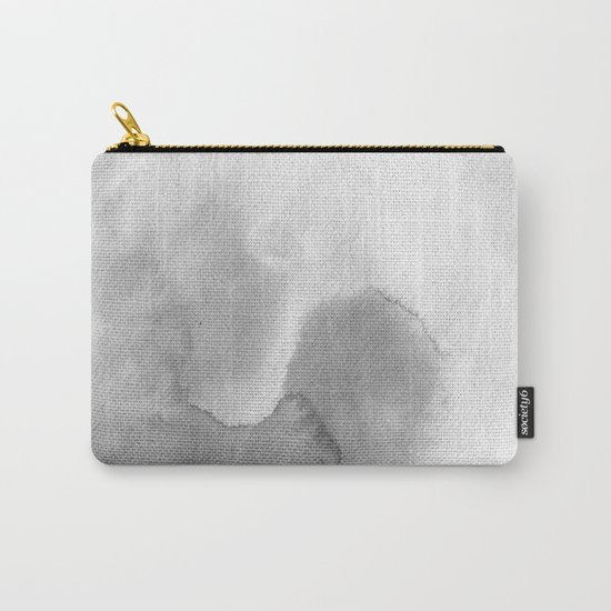Grey Minimal Carry-All Pouch