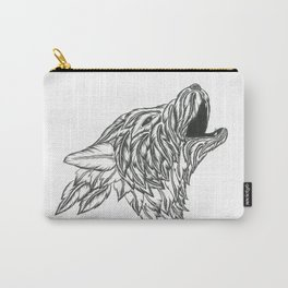 Feather Wolf Carry-All Pouch