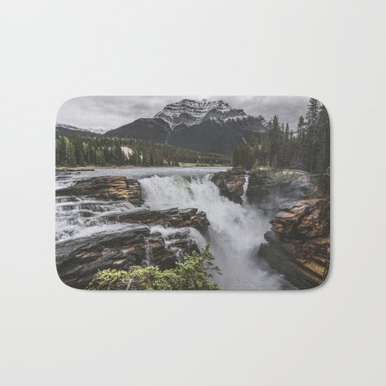 Athabasca Falls Mountain View Bath Mat