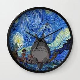 Totor Starry Night Wall Clock