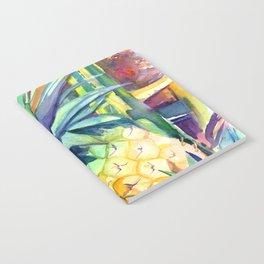 Kauai Pineapple 4 Notebook