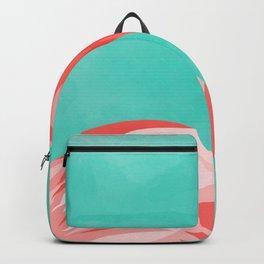 Flamingo Bird Backpack