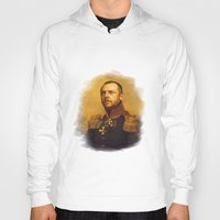 replaceface Hoodies featuring Simon Pegg - replaceface by replaceface