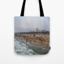 Santa Monica . Tote Bag