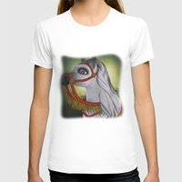 carousel T-shirts featuring Carousel by Texnotropio