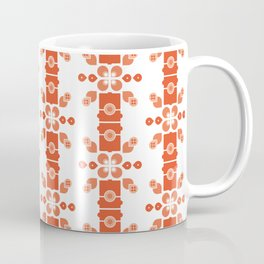 Bamboo forest – red Coffee Mug