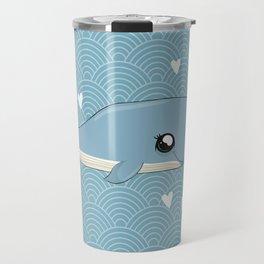Cute Kawaii Whale Travel Mug