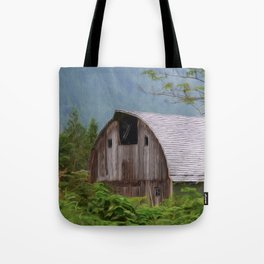 Middle Of Nowhere - Country Art Tote Bag