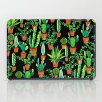 cacti iPad Cases featuring Cacti by Sian Keegan