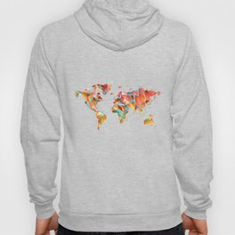 Geometric Map Hoody