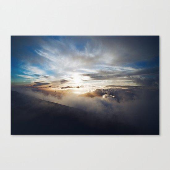 Vengeful sky Canvas Print