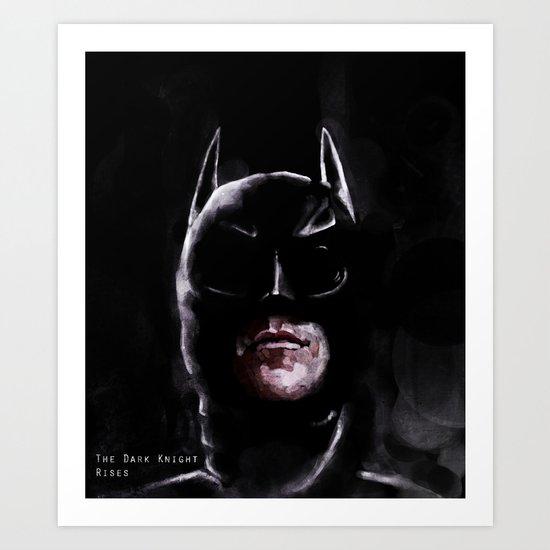 Gotham's Knight Art Print
