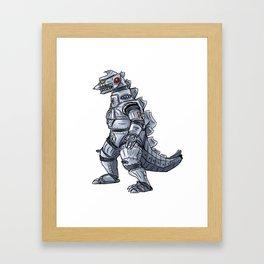 Mechagodzilla Framed Art Print