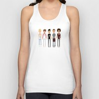 cargline Tank Tops featuring Simplicity by cargdoodles