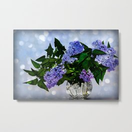 Mother day lilac Metal Print