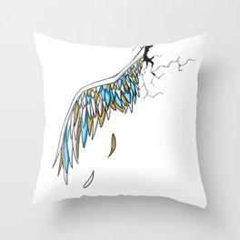 Broken Wing Throw Pillow