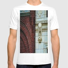 The Bricks & The Chief Mens Fitted Tee White MEDIUM