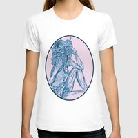 70s T-shirts featuring '70s Zombie Pinup by Joe Humphrey