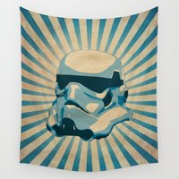 trooper Wall Tapestries featuring The trooper by Durro