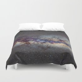 The Milky Way: from Scorpio and Antares to Perseus Duvet Cover