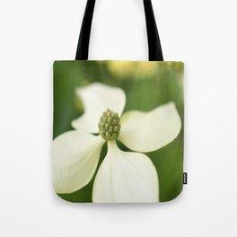 Four White Petals Tote Bag