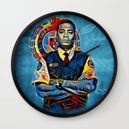 Officer Jackson Wall Clock
