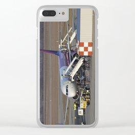 Wizz Air Jet And Fire Brigade Clear iPhone Case