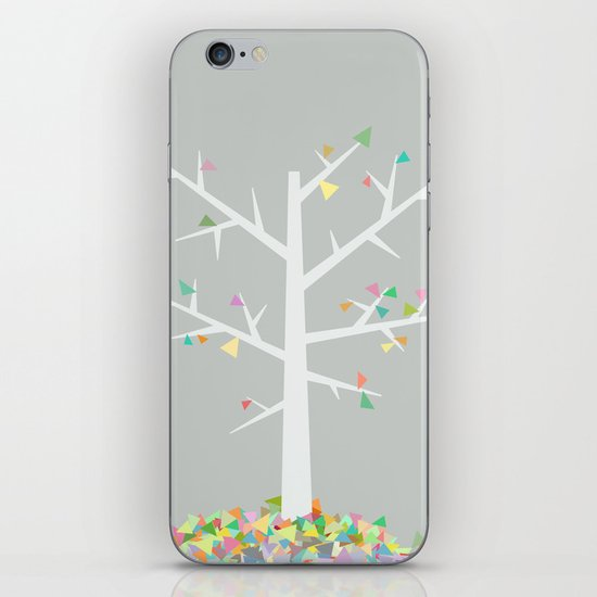 Graphic Tree  iPhone Skin