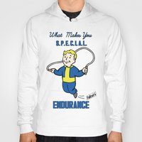 fallout 3 Hoodies featuring Endurance S.P.E.C.I.A.L. Fallout 4 by sgrunfo