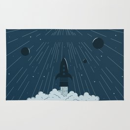 Launching To Space Rug