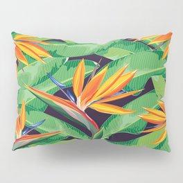 Bird of paradise flower Pillow Sham