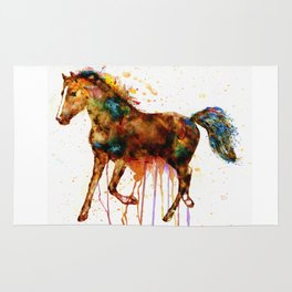 Watercolor Horse Rug