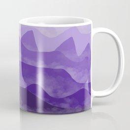 Misty Mountain Purple Coffee Mug