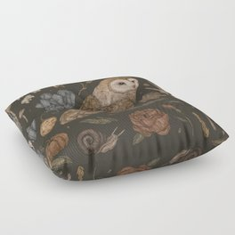 Harvest Owl Floor Pillow