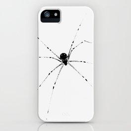 Menacing Spider iPhone Case