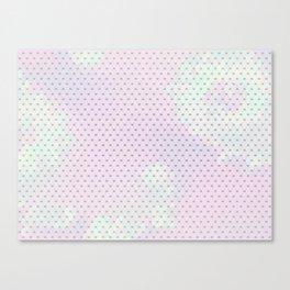 Purple Mesh Canvas Print