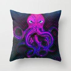 Optical Octo #3 Throw Pillow