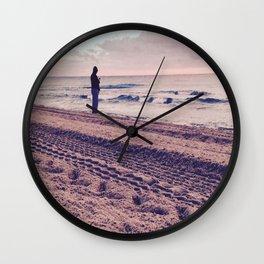 Lonewolf Wall Clock