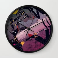 ghostbusters Wall Clocks featuring Ghostbusters 2 by boneface
