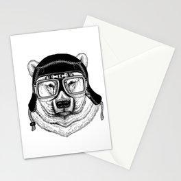 Polar Bear Speed Rebel Stationery Cards