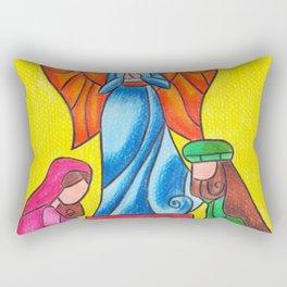 Nativity Rectangular Pillow
